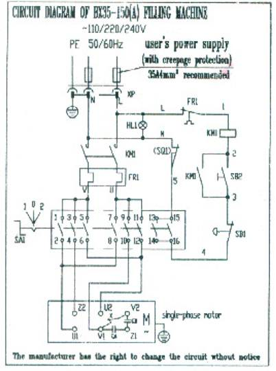 electrical diagram for commercial meat mixers rh proprocessor com Light Switch Wiring Diagram Wiring Diagram Symbols