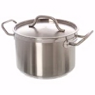 8 Qt. Stainless Steel Stockpot with Lid