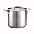 12 Qt. Stainless Steel Stockpot with Spigot