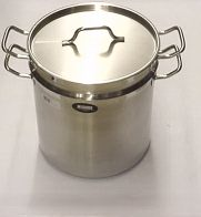 Stainless Steel Pasta Cooker or Tamale Steamer