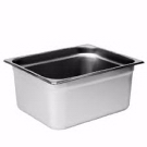 Stainless Steel 6 Inch Half Pan