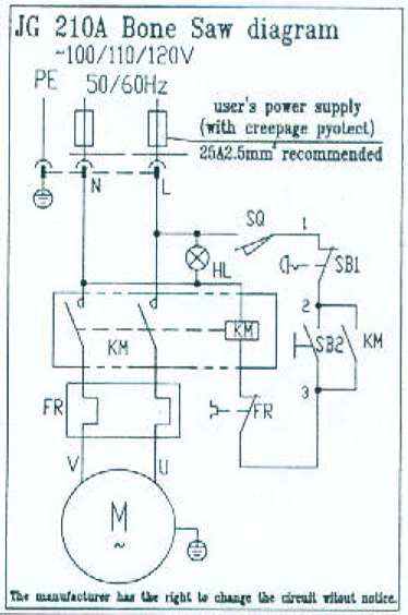 electrical diagram for band saw Belt Sander Diagram Band Saw Wiring Diagrams #1