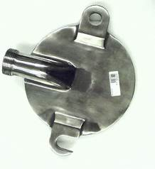 Aluminum Lid for 30lb Hydraulic Stuffer