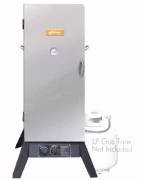 Stainless Steel Vertical Propane Smoker 48in