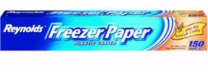 commercial Plastic Coated Freezer Paper