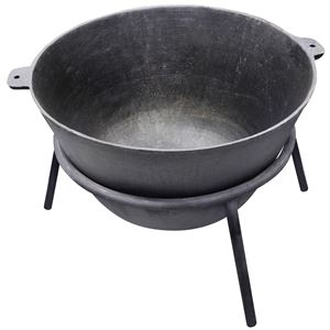 40 gallon Cast iron Cook Pot w/ stand