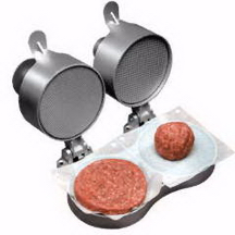 Double Hamburger Patty Press