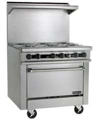 36 inch Stainless Steel Gas Range
