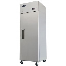 20 cu ft. Single Door Stainless Steel Reach In Refrigerator