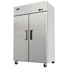 44.5 cu ft. Two Door Stainless Steel Reach In Refrigerator