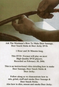Deer Processing DVD