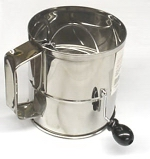 Professional Rotary Crank Sifter