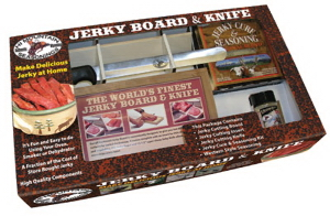 The Original Jerky Board & Knife
