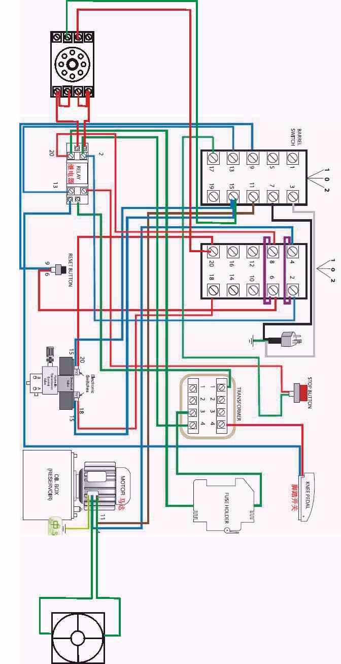 sausagestufferelectricalnew electrical charts for hydraulic sausage stuffer Voltage Regulator Wiring Diagram at edmiracle.co