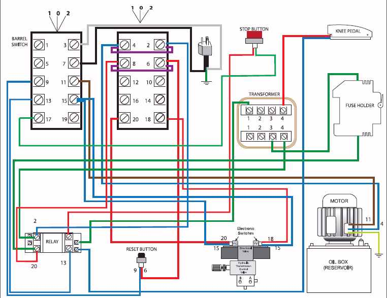 wiring diagram for grinder